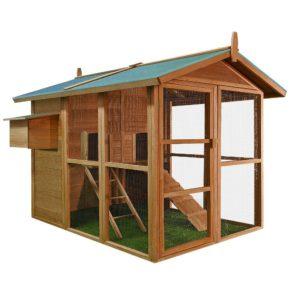 Hühnerhaus und Hühnerstall mit Auslauf kaufen